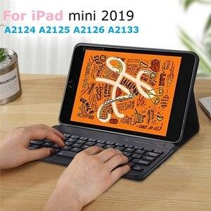 Тонкий чехол для iPad mini 2019 mini 5, чехол для клавиатуры A2133 A2124, чехол для клавиатуры с русским испанским языком для iPad mini 5 2019, чехол