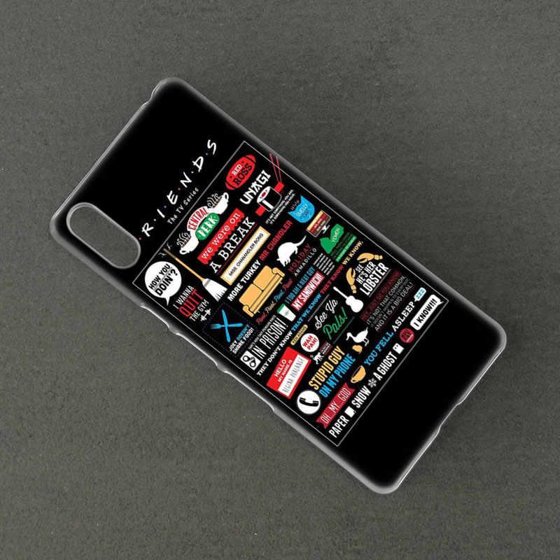 Gorąca przyjaciół razem twarde etui do Sony Xperia L1 L2 L3 X XA XA1 XA2 XA3 Ultra 10 Plus E5 XZ XZ1 XZ2 kompaktowy XZ3 XZ5 2 20 pokrywa