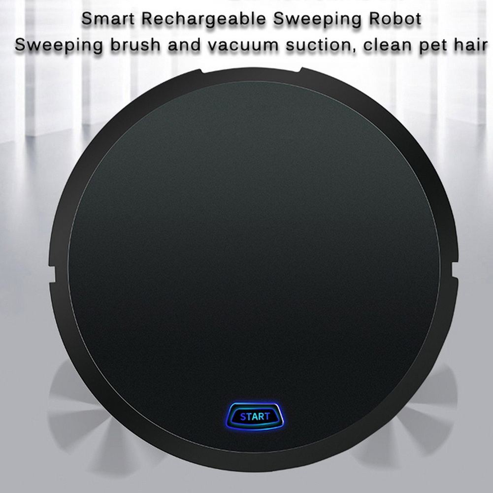 Rechargeable Auto Floor Dirt Anti-fall Gift Toy Electric Hair Powerful USB Office Home Sweeping Robot Dust Vacuum Cleaner