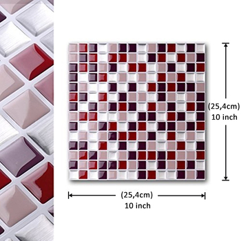 Self Adhesive Mosaic Tile Wall Decal Sticker