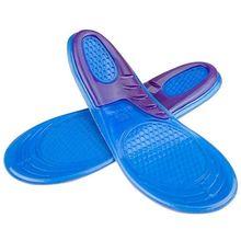 JHD-спортивные гелевые стельки, удобные вставки для обуви с отличной амортизацией и амортизацией для мужчин и женщин для ходьбы и бега
