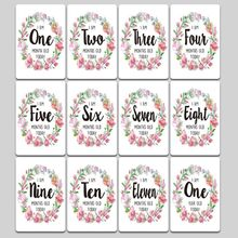 Baby Milestone Photo Cards Unisex Moment Landmark Cards Age Markers & Unique Firsts Baby