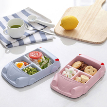 Baby Food Containers Infant Bamboo Fiber Training Dishes