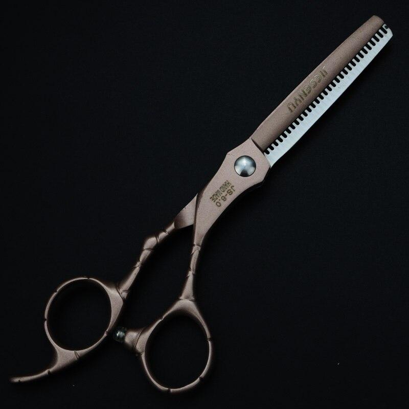 6 polegada japonês 440c corte fino dentes