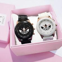 Reloj deportivo informal de silicona para Mujer, pulsera de cuarzo de marca famosa