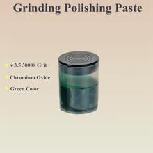 Зеленая Полировочная паста из металла W3.5 \ 3000# абразивная паста, шлифовальная паста для полировки колеса, Электрический шлифовальный инструмент, горячая распродажа