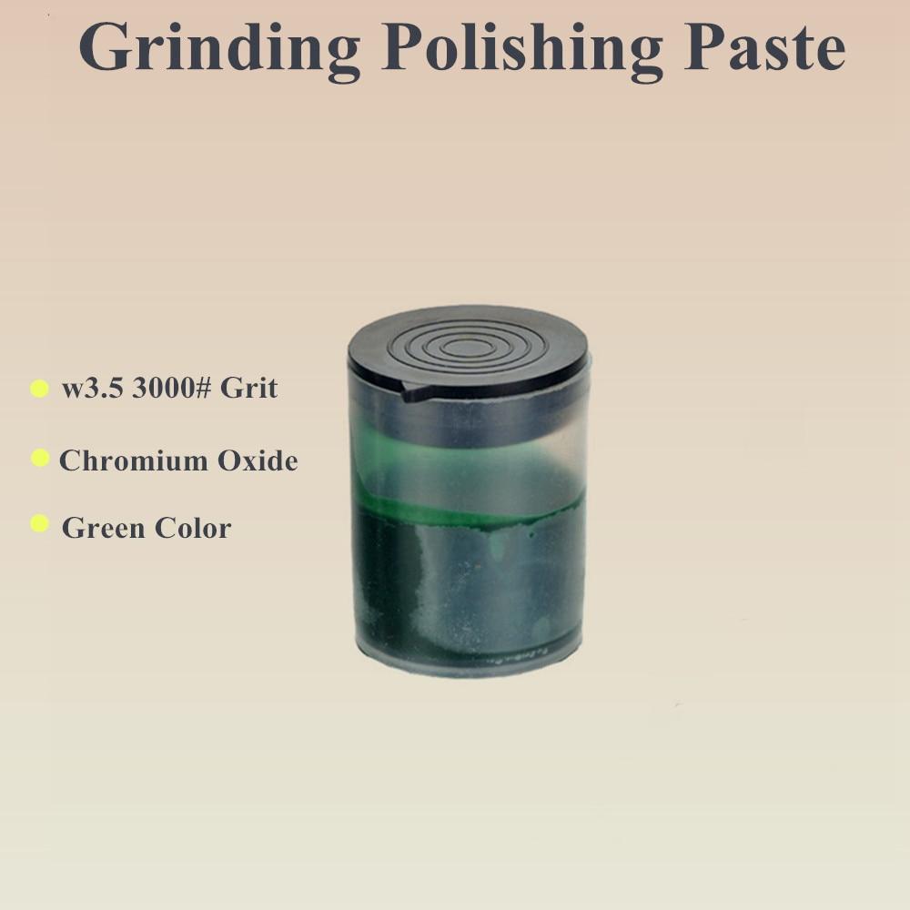 Green Polishing Paste Metal W3.5\3000# Abrasive Paste Lapping Grinding Paste For Polishing Wheel Electric Grinder Tool Hot Sale
