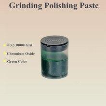 цена на New Arrival Granularity w3.5\3000# Wool Grinding Paste Tool bottle size 27*36mm green grinding polishing Paste for wool
