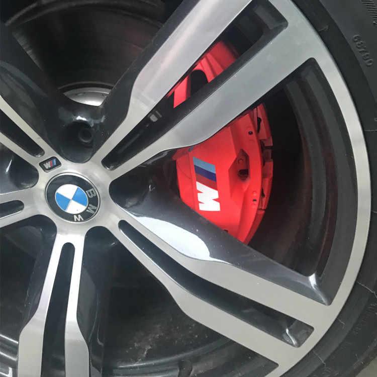 4 Uds espejo retrovisor para coche pegatina para volante de coche pinza de freno adhesivo de decoración, calcamonía para BMW M3 M5 M6 X1 X3 X5 E34 E39 E36