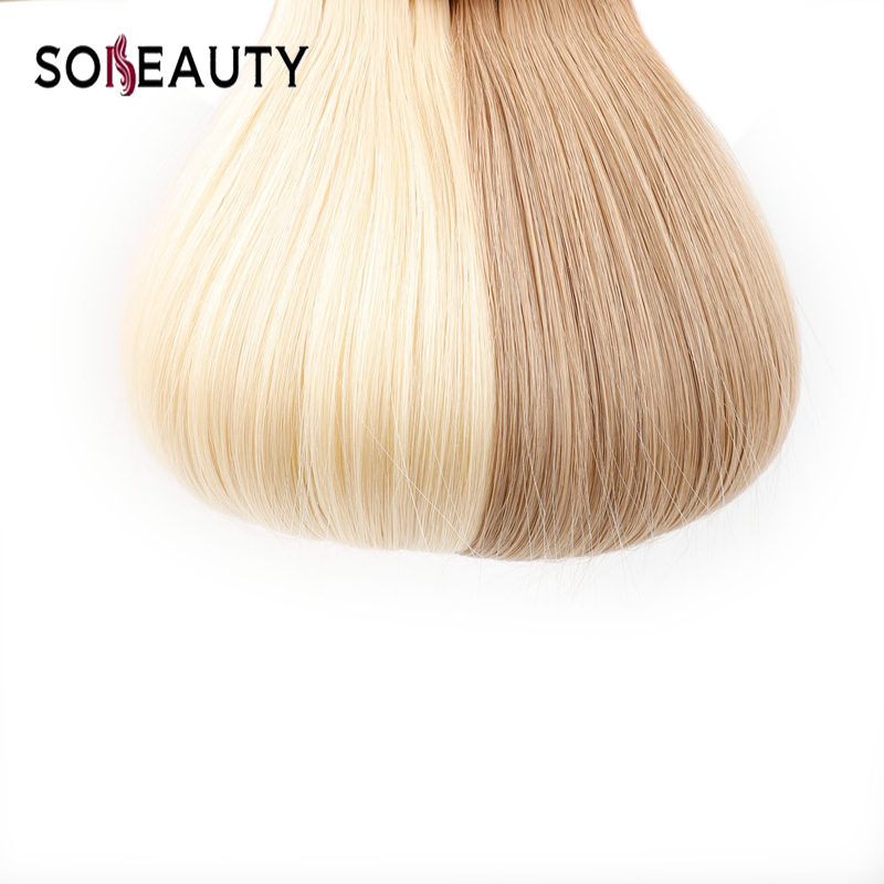 Sobeauty 100% Human Hair Double Drawn Tape In Hair Extensions 20PCS/PACK Skin Weft  Malaysian Remy Hair 14''18''20'' Ash Blonde