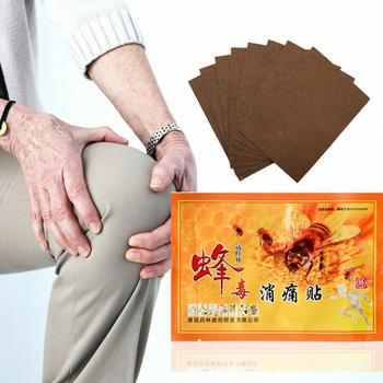 1 Pcs Chinese Medicines Bee Venom Balm Joint Pain Patch Massager Body Neck Relax Pain Relaxation Body Back Plaster Killer X4R3 image