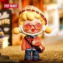 Popmart skullpanda hypepanda série caixa cega boneca binária ação brinquedos figura presente de aniversário do miúdo brinquedo