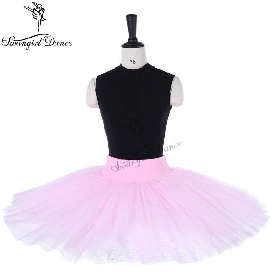 children pink color   Half Ballet Tutu for girls s professonal half pancake platter ballet tutu for women BT8923