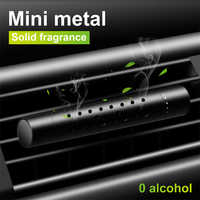 Ambientador de coche olor en el coche estilo perfume de rejilla de ventilación Parfum sabor para Auto Interior accesorios ambientador de aire para chica