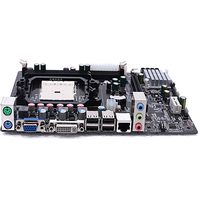 A55 Motherboard DDR3 RJ45 Interface SATA II High Performance USB 2.0 Easy Install Components LGA1366 PCI Computer Accessories