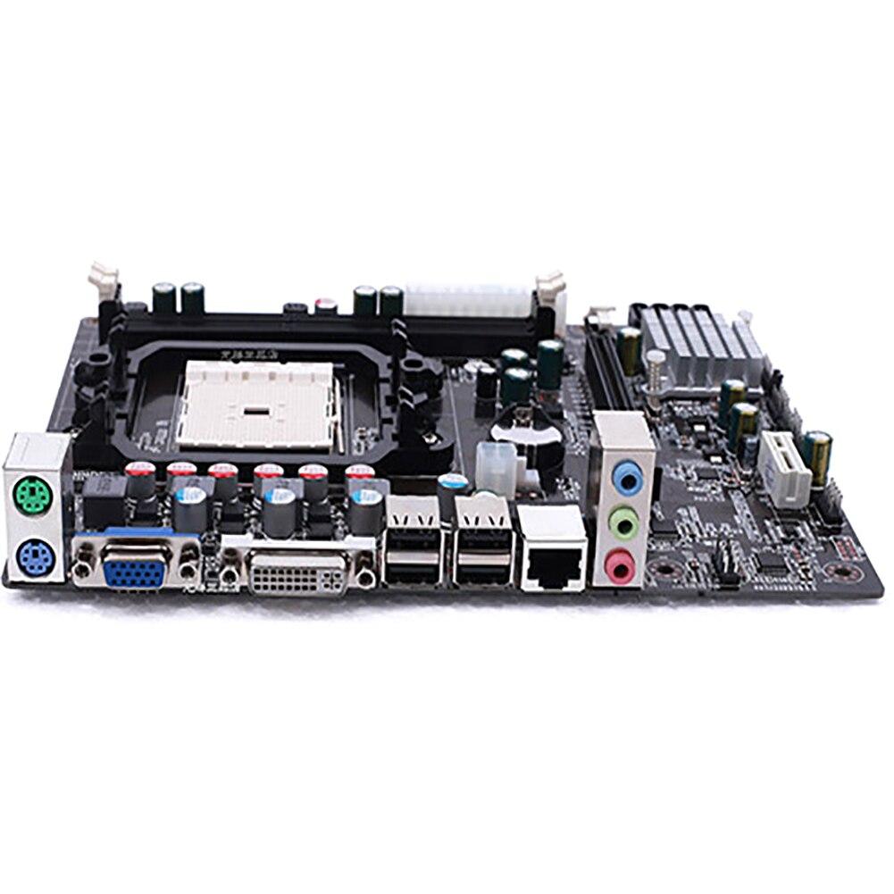 A55 carte mère DDR3 RJ45 Interface SATA II haute Performance USB 2.0 composants d'installation facile LGA1366 PCI accessoires informatiques