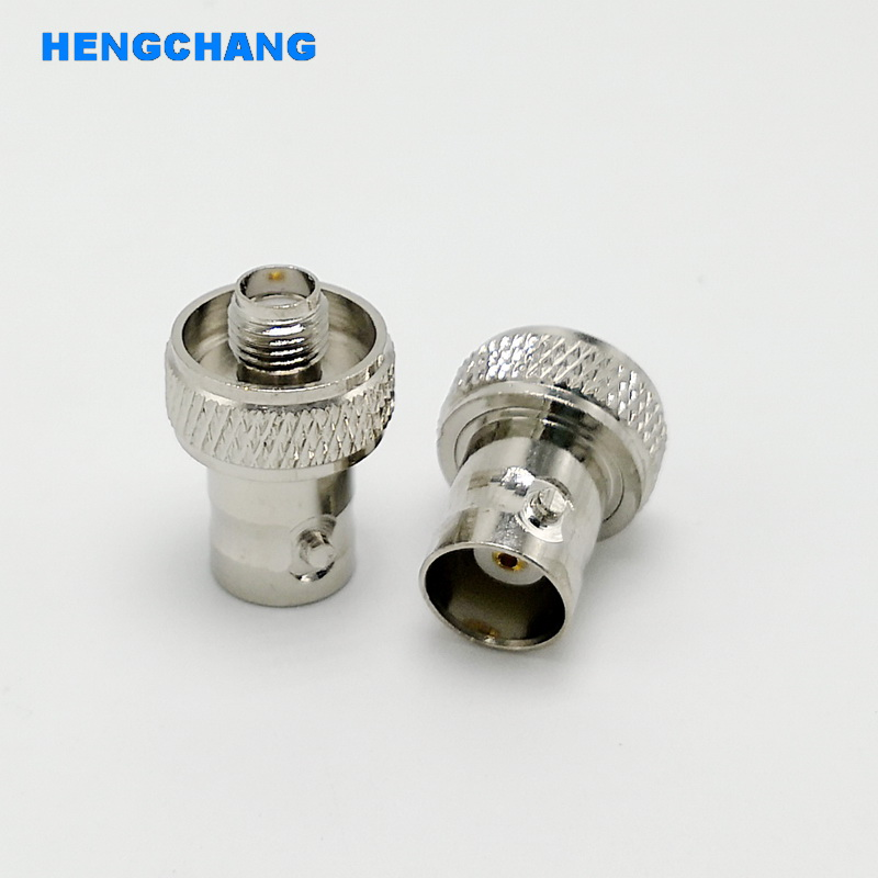BNC To SMA Adapter For Walkie-talkie Antenna BNC Female To SMA Female Connector Adapter 10pcs