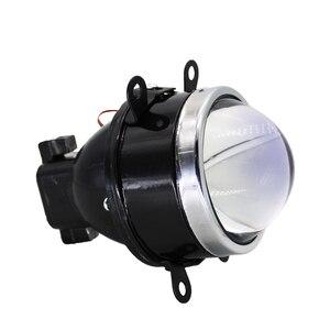 Image 5 - TAOCHIS araba styling 3.0 sis lambası bi xenon projektör Lens mavi cam güçlendirme sis lambası SUBARU CITROEN DACIA FORD PEUGEOT OPEL