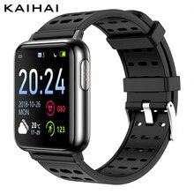 Kaihai H69フィットネス活動ecg ppg SpO2スマートブレスレットモニター血圧心拍数測定トラッカーリストバンド
