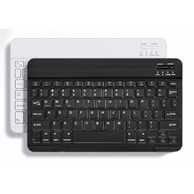Portable Unversal Bluebooth Keyboard Desktop Laptop Tablet Keypads English & Russian 7 9 10 inch Available(China)