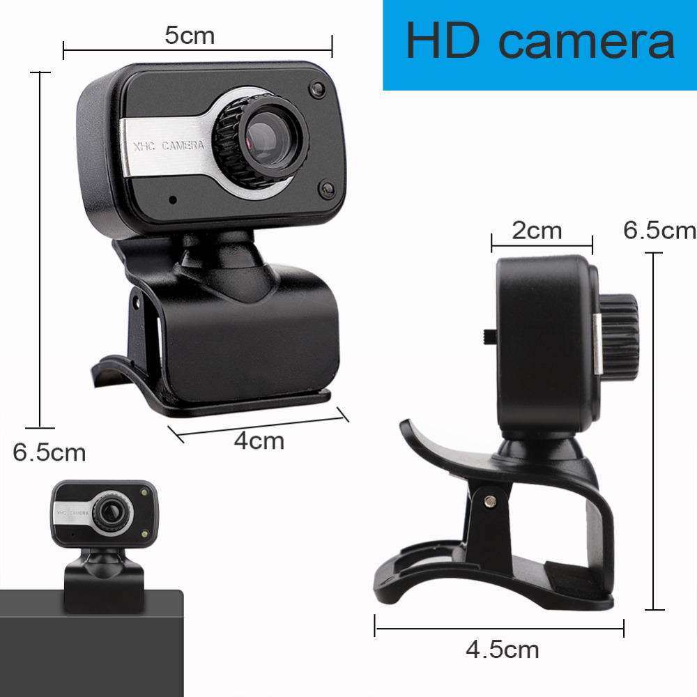 480P/720P/1080P USB Webcam for Video Calling/Recording with Auto White Balance/Color Correction 7