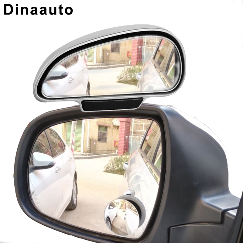 Rétroviseurs de révision latéraux réglables | Rétroviseur de voiture à Angle large, miroirs auxiliaires de stationnement