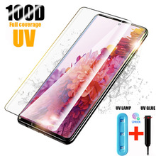 UV Tempered Glass For Samsung Galaxy S10 Plus Glass S9 S8 Screen Prote