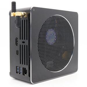 Image 3 - Topton מיני מחשב Intel Xeon E3 1505M v5 4 Core 8 אשכולות 2.80 GHz מחשב שולחני Win10 פרו 16GB DDR3L AC Wifi 4K מיני DP HDMI