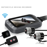 Dash Camera Front And Rear Lens Dashcam Full HD 1920x1080 With Wifi Motorcycle GPS Driving Recorder DVR For Motorcycle Camera