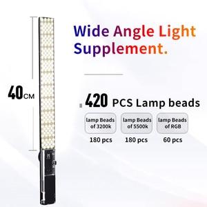 Image 2 - Yongnuo YN360III Handheld RGB LED Video Licht Ijs Stok 3200 5600K Bi kleur/5500 K Touch aanpassen YN360 III Foto Fill Verlichting