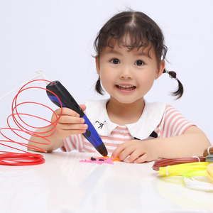 Image 5 - Original Model 3D Pen With 20 Color ABS Filament Plastic 3 D Printing Pens Creative Toy Birthday Gift For Kids Design Drawing