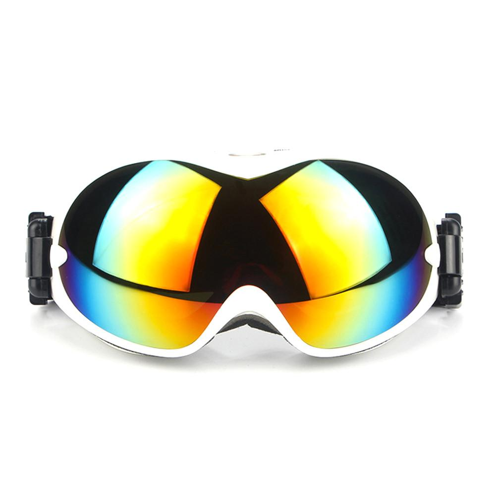 1Pcs Winter Windproof Double Layer Anti-Fog Skiing Glasses Goggles Outdoor Sports Glasses Dustproof Moto Cycling Sunglasses