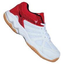 Unisex Professional Non Slipรั้วรองเท้าBreathable Shock Absorbingรองเท้าสวมใส่การแข่งขันกีฬารองเท้าผ้าใบ