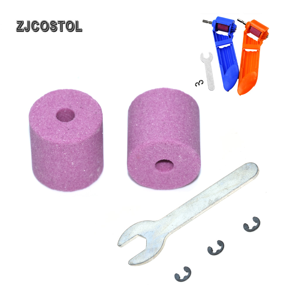 ZJCOSTOL Corundum Wheel Portable Drill Sharpener Wear Grinding Wheel Corundum Wheel Abrasive Tools Accessories
