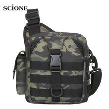 Sac à dos de poitrine tactique Molle de pêche, sac à bandoulière militaire de randonnée de Camping, sac à dos d'extérieur XA180A