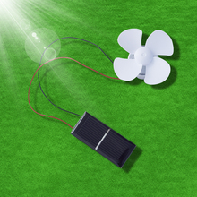 Solar Fan DIY Toy Solar Panel Mini Motor Educational Toy Handmade Articles for Adult Teenager 2 sets green model miniature of delight mini solar car stepper motor diy for production technology teenage enlightenment toy