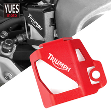 Motorcycle Accessories Rear Brake Fluid Reservoir Guard Cover Protector For TRIUMPH TIGER 800 XR XCA XRX XRT 2017 2018