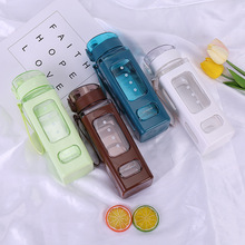 drop-proof space cup creative seal leak-proof portable double-layer cute water bottle coffee travel bottles