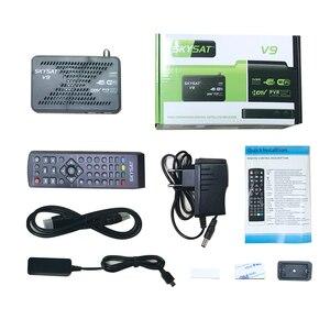 Image 5 - SKYSAT V9 CCCams שרת hd Newcamd DVB S2 לווין מקלט SKYSAT V9 תמיכת WiFi 3G Youtube PVR PowerVu ביס קולט אירופה