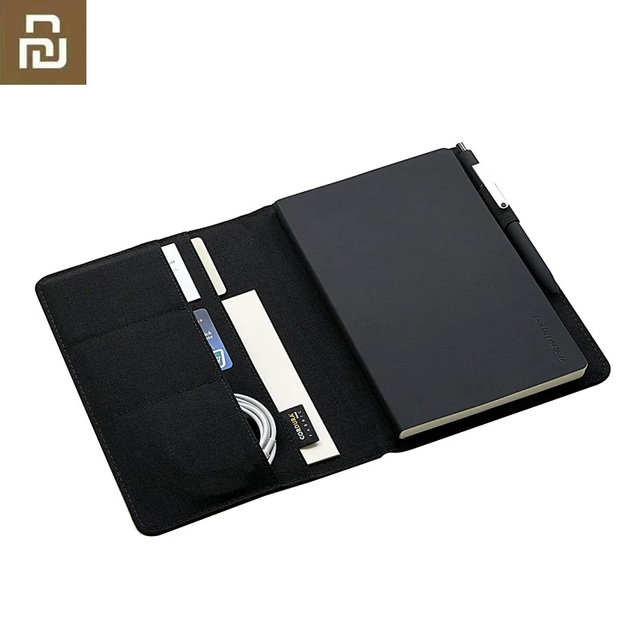 Youpin Kaco Noble Paper NoteBook PU Card Slot Wallet Book for Office Travel with a Gift