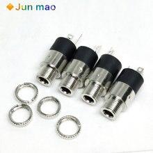 10 шт разъем для наушников pj392 35 мм Цилиндрический стерео