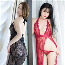 WomanS Nightie Night Wear Sleeping Dress Plus Size Women Sexy Nighty Lingerie Porno