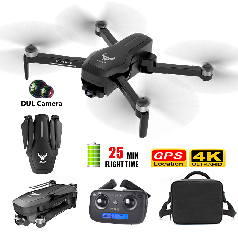 SG906pro Gps Brushless 4k Rc Drone With 5g Wifi Fpv Drone Mechanical Two-axis Anti-shake Camera HD Rc Quadcopter Drone
