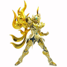 Model-Toys Action-Figures Myth Cloth Aioria Armor Seiya Saint Leo Metal Gold EX