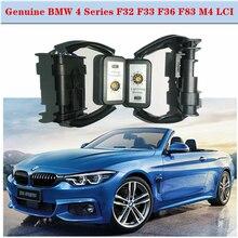 2X 동적 회전 신호 표시기 LED 미등 정품 BMW 4 시리즈 F32 F33 F36 F83 M4 LCI Facelift 후면 조명 미등 LED