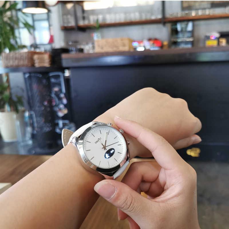 Hybrydowy kwarcowy smart watch T4 mężczyźni kobiety wielu funkcji Sport wodoodporny tętno tlenowa krwi Bluetooth Android IOS inteligentny zegarek