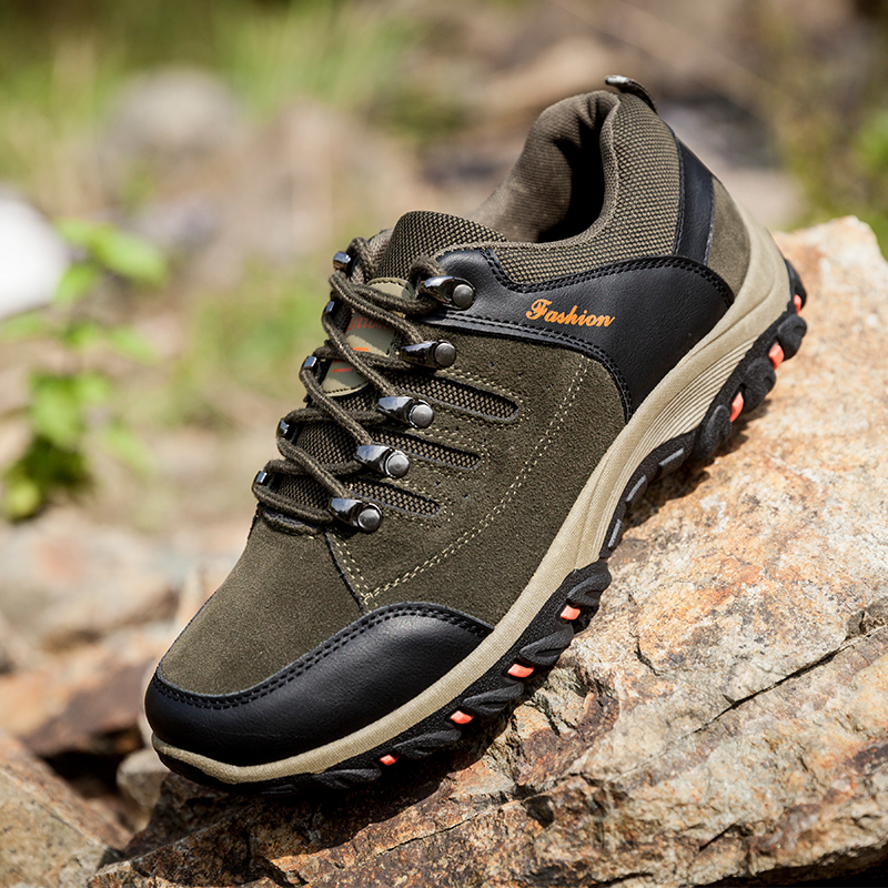 new men's casual shoes Zapatos de Hombre comfortable waterproof outdoor  hiking shoes spring and