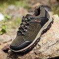 2019 novos sapatos casuais masculinos zapatos de hombre confortável à prova dwaterproof água ao ar livre caminhadas sapatos primavera e outono tênis de borracha