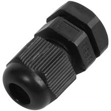 PG7 Black Nylon Waterproof Strain Relief,Cord Grip,Cable Gland 3.5-6 mm 50pcs