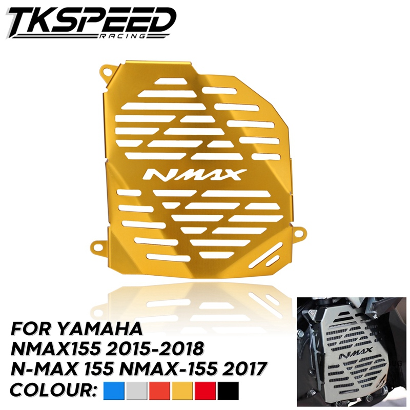For NMAX 155 MAX155 <font><b>NMAX155</b></font> 2015-2018 Motorcycle Radiator Grille Guard Cover Protector tank Accessories image